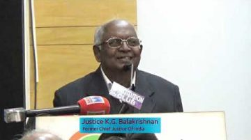 Justice K. G. Balakrishnan I RTI Lecture and National Award Function